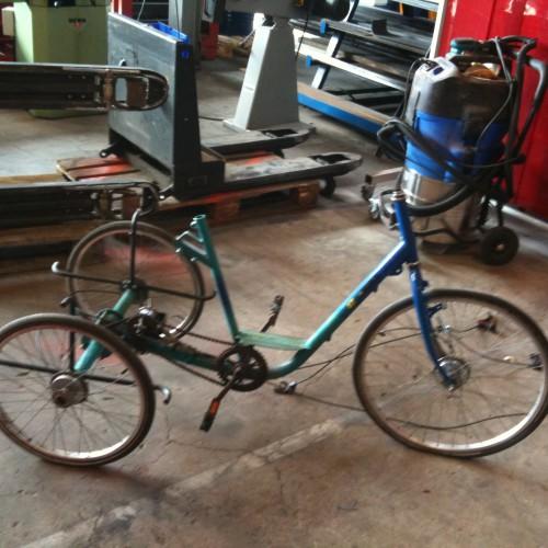 The Starting Bike